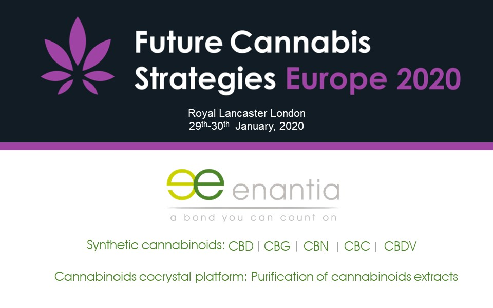 Enantia at Future Cannabis Strategies Europe 2020