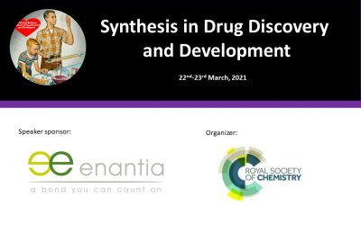 Enantia at Synthesis in Drug Discovery and Development